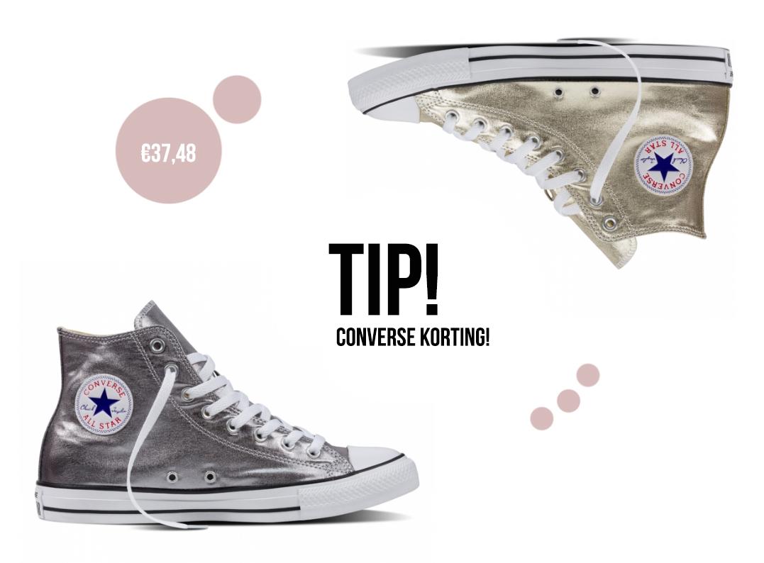 converse korting