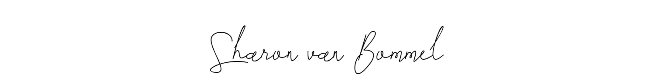 Sharon van Bommel – Beauty kent geen regels!
