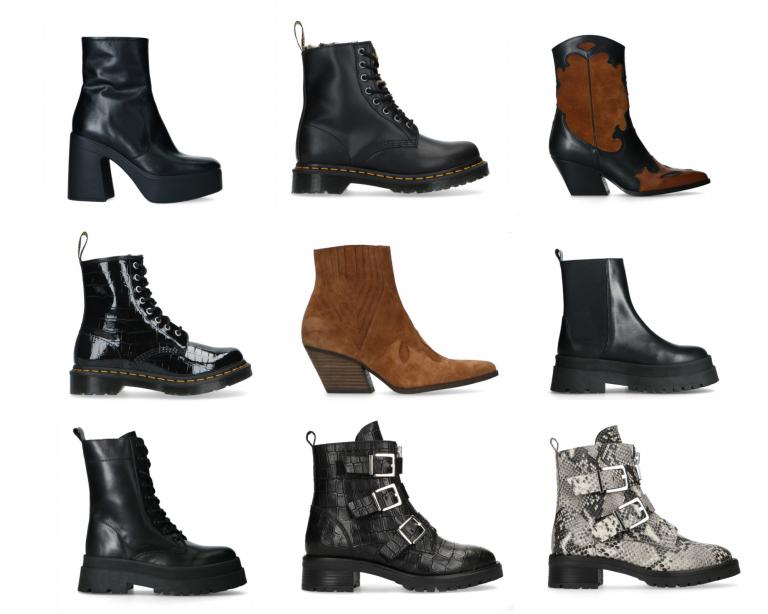 Boots voor de herfst