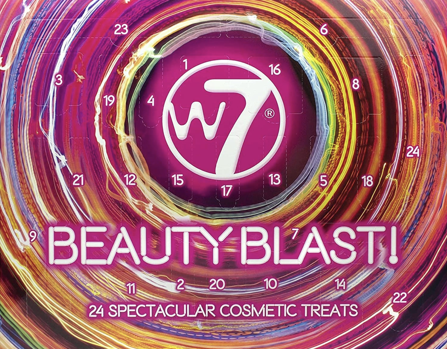 W7 Beauty Blast Advent Kalender