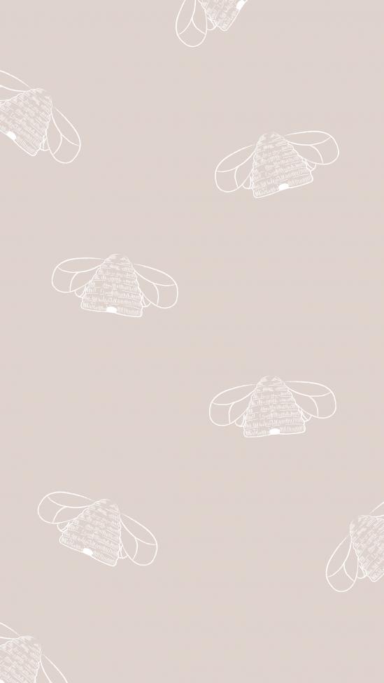 leuke achtergronden voor je telefoon bijtjes
